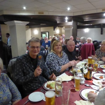 Curry Night at the Rajshahi Indian Restaurant Bradford